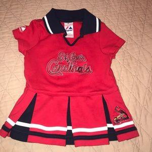 St Louis Cardinals 2T dress